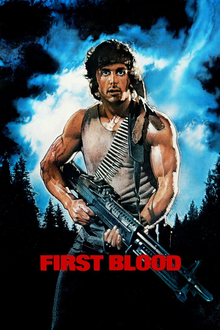 """Poster for the movie """"First Blood"""""""