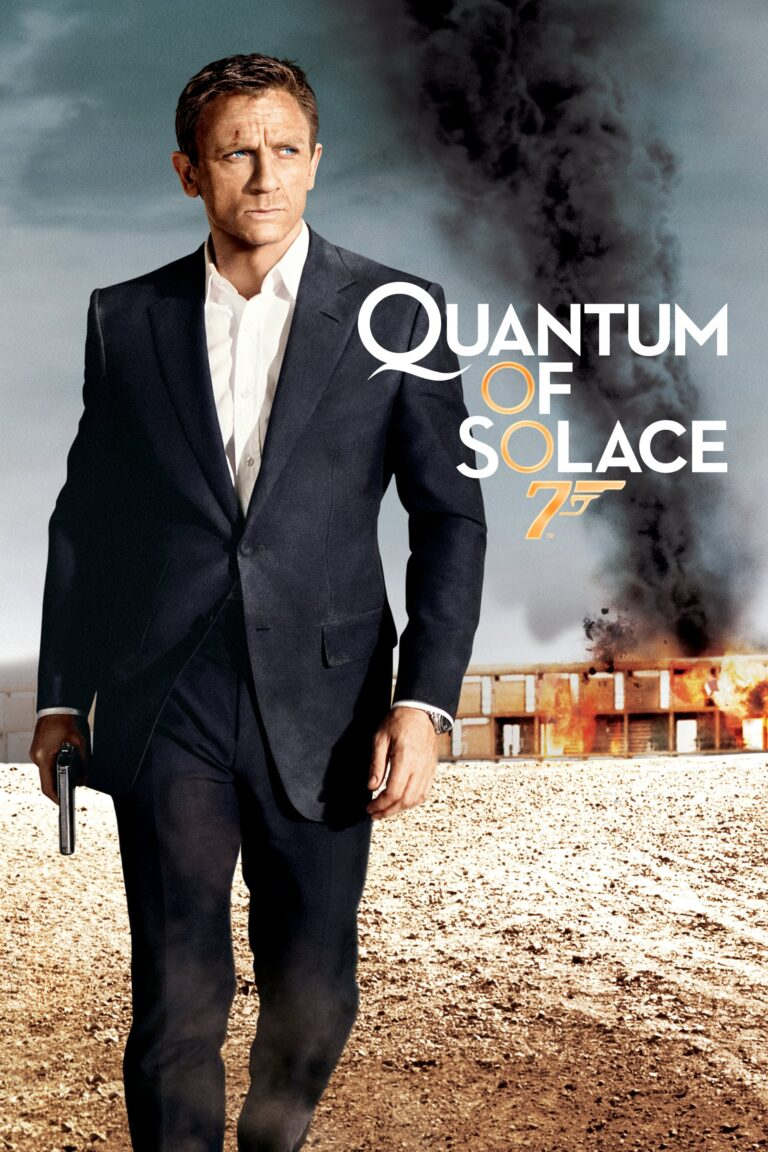 "Poster for the movie ""Quantum of Solace"""