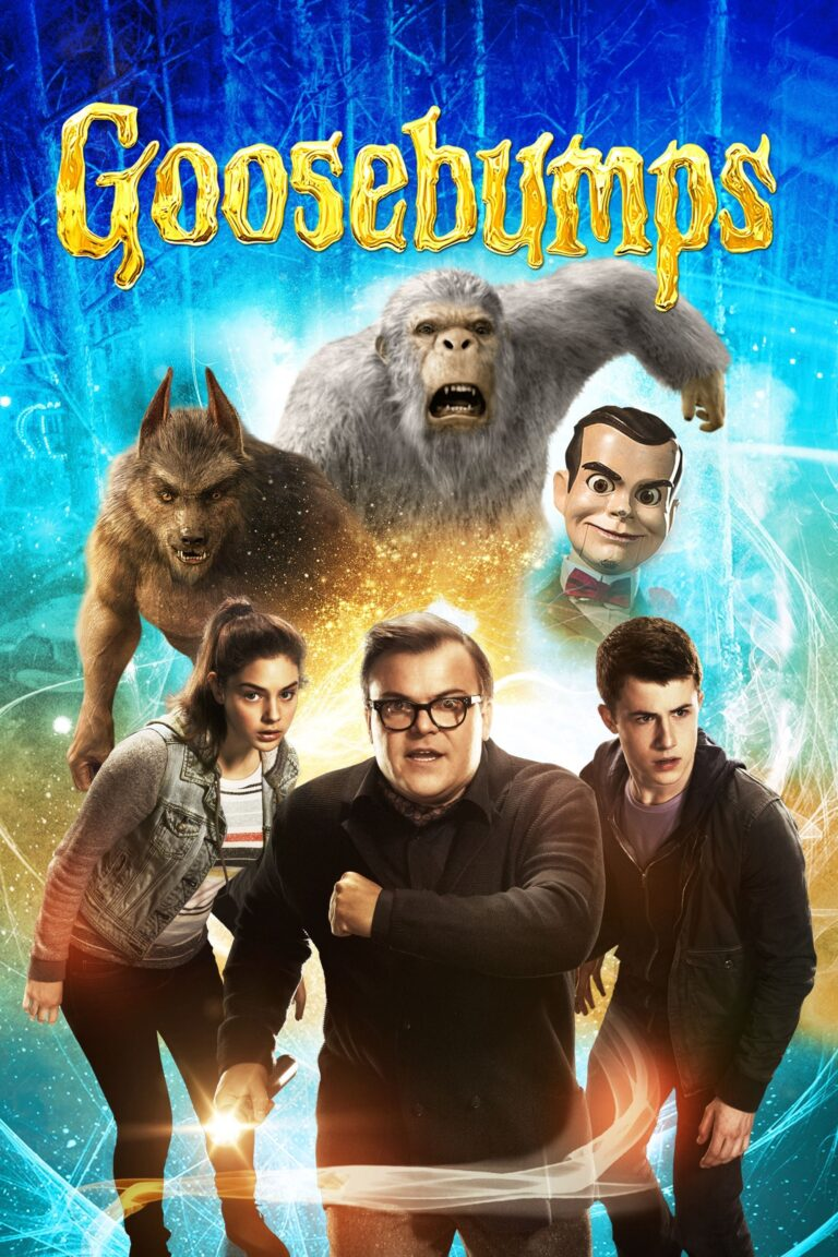 """Poster for the movie """"Goosebumps"""""""