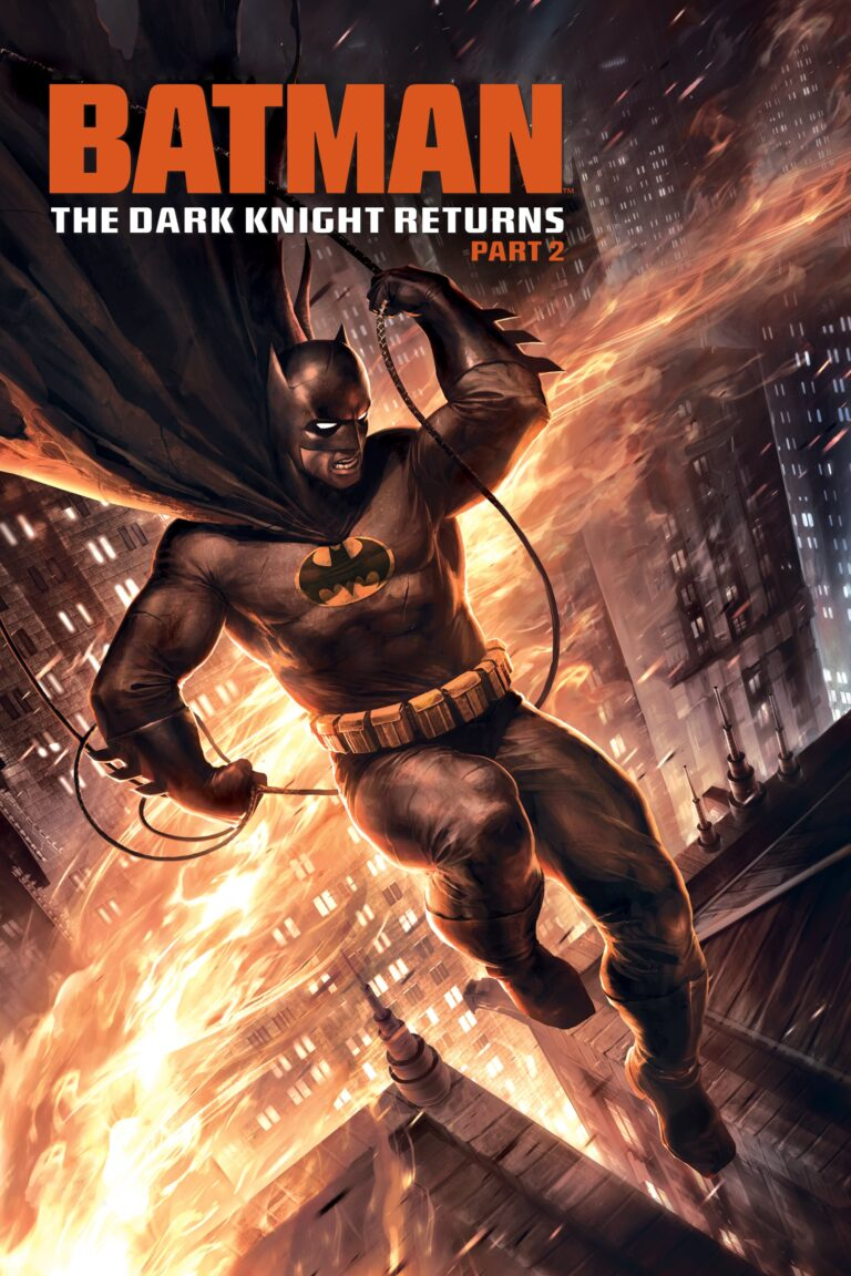 """Poster for the movie """"Batman: The Dark Knight Returns, Part 2"""""""