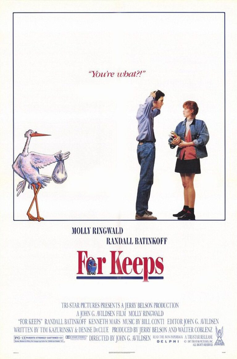 """Poster for the movie """"For Keeps"""""""