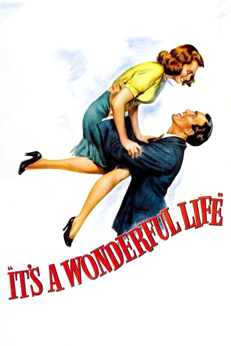 """Poster for the movie """"It's a Wonderful Life"""""""