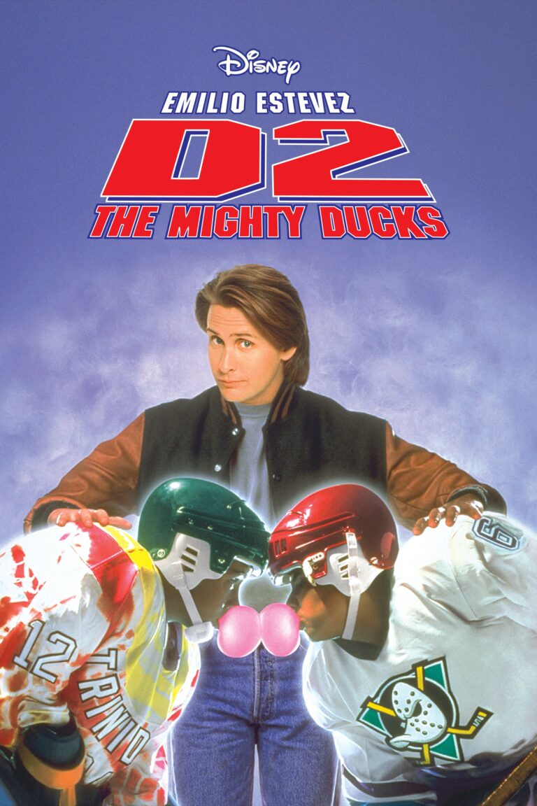 """Poster for the movie """"D2: The Mighty Ducks"""""""