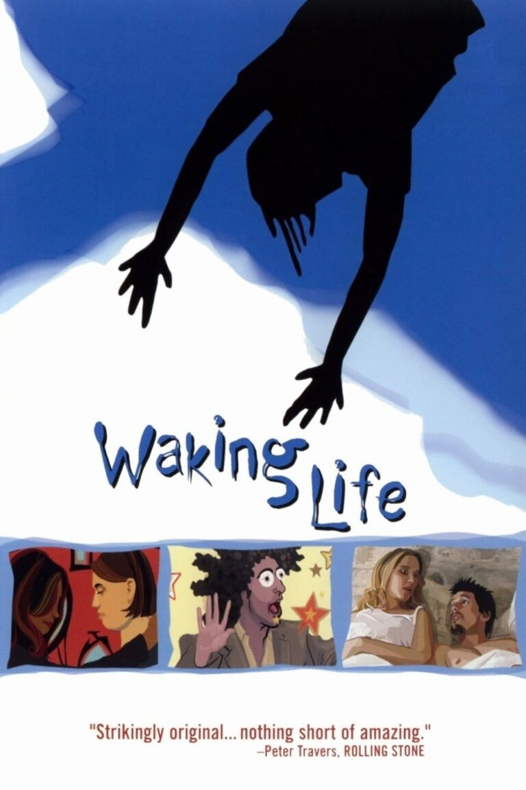 "Poster for the movie ""Waking Life"""