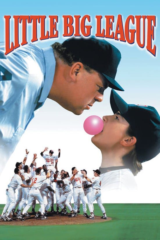 """Poster for the movie """"Little Big League"""""""