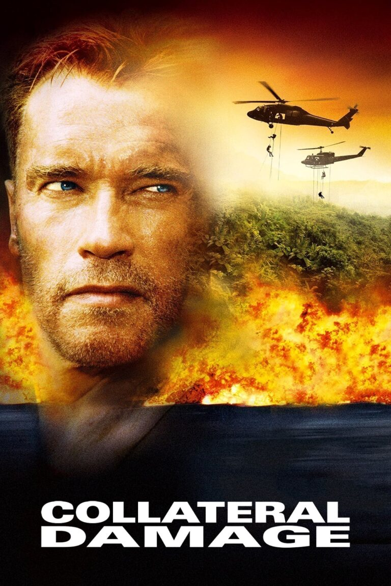 """Poster for the movie """"Collateral Damage"""""""