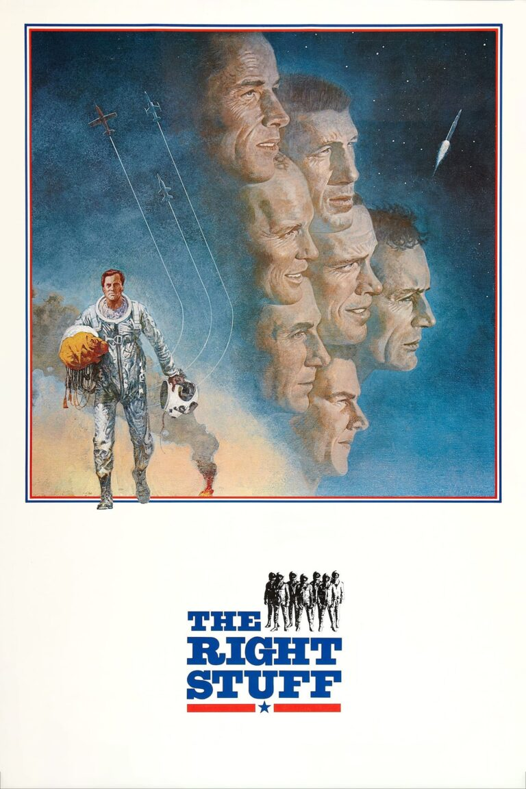 "Poster for the movie ""The Right Stuff"""