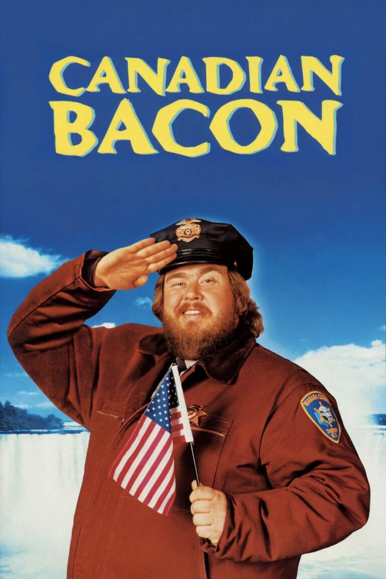 """Poster for the movie """"Canadian Bacon"""""""