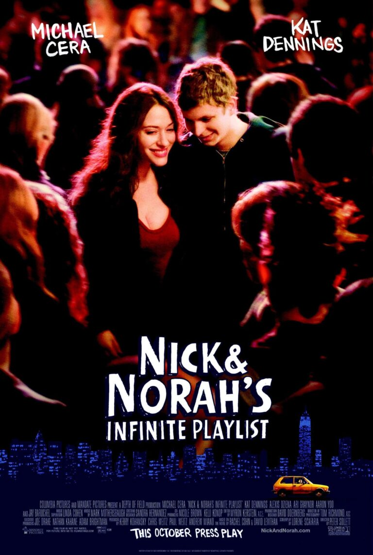 """Poster for the movie """"Nick and Norah's Infinite Playlist"""""""