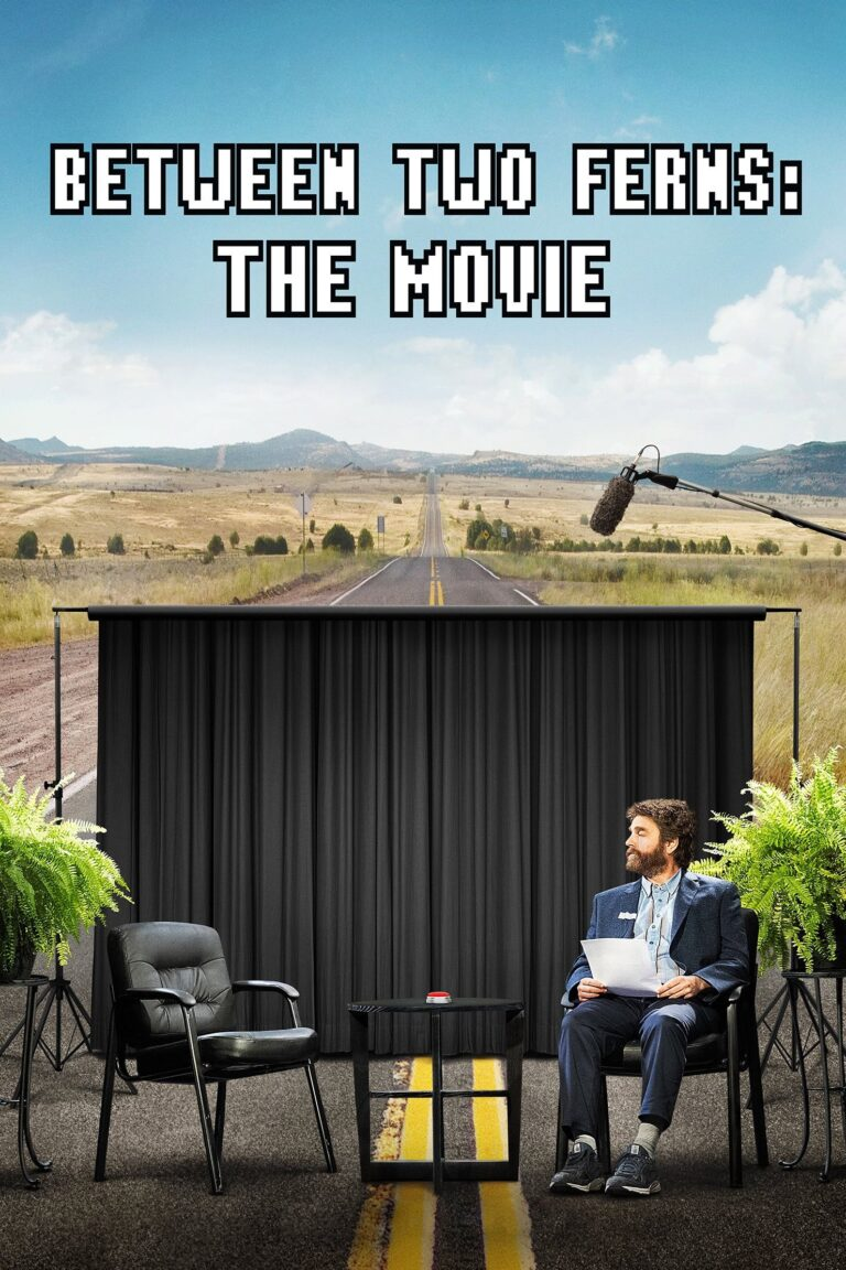 "Poster for the movie ""Between Two Ferns: The Movie"""