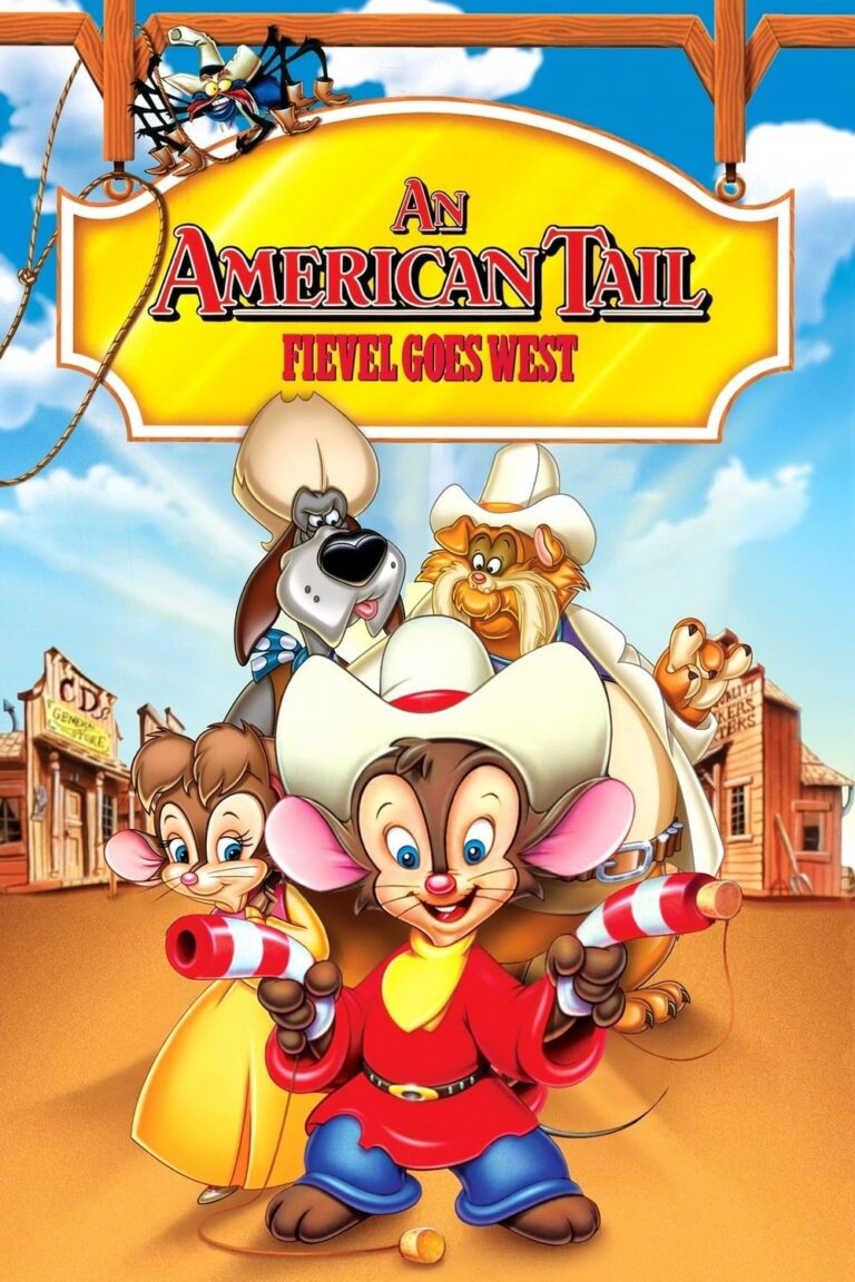 """Poster for the movie """"An American Tail: Fievel Goes West"""""""