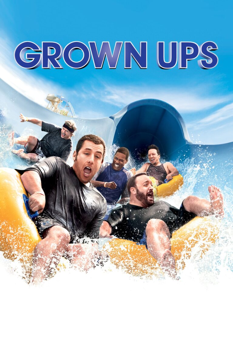 """Poster for the movie """"Grown Ups"""""""
