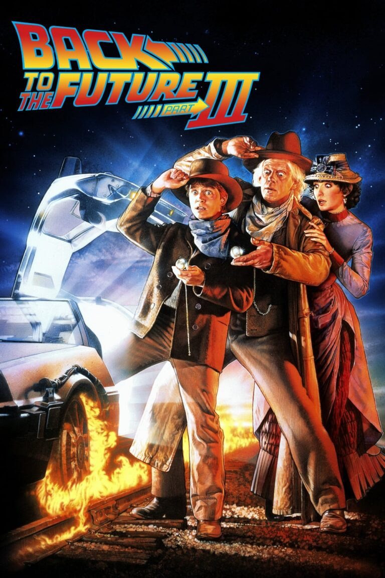 """Poster for the movie """"Back to the Future Part III"""""""
