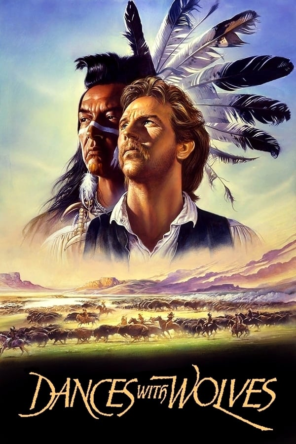 """Poster for the movie """"Dances with Wolves"""""""