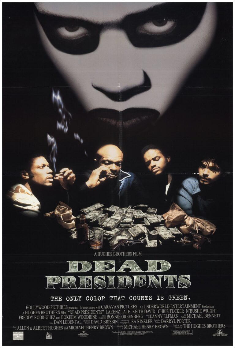 """Poster for the movie """"Dead Presidents"""""""
