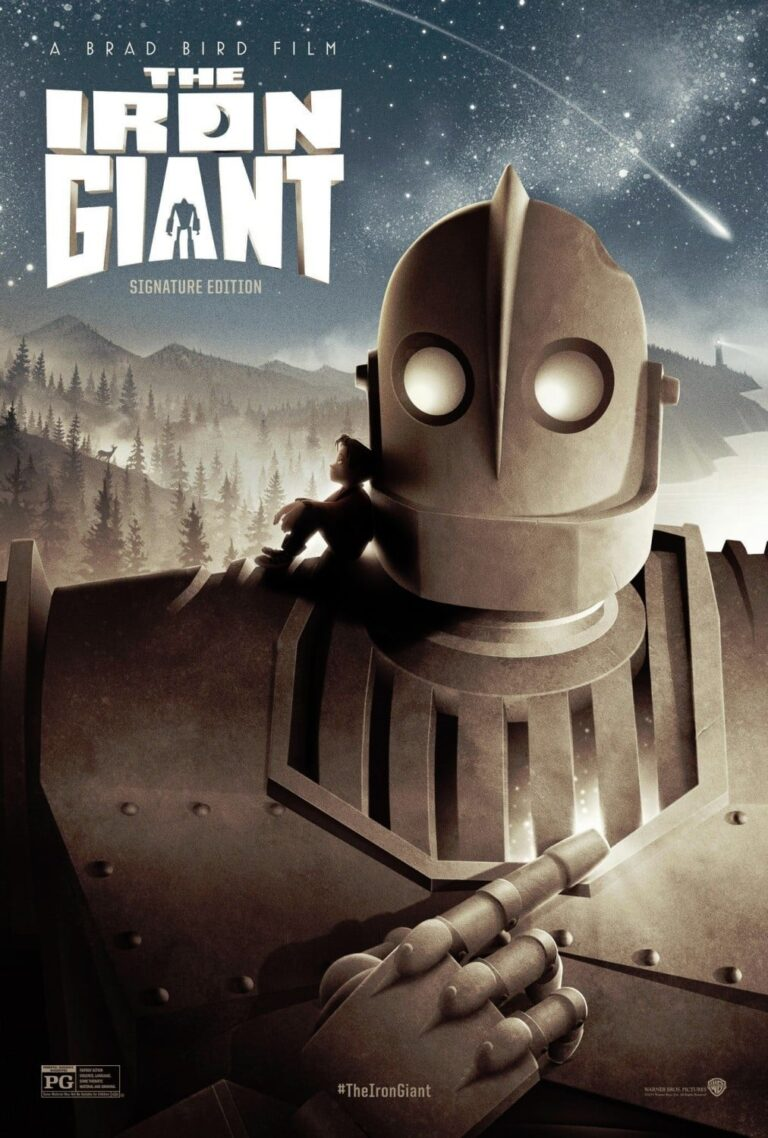 """Poster for the movie """"The Iron Giant"""""""