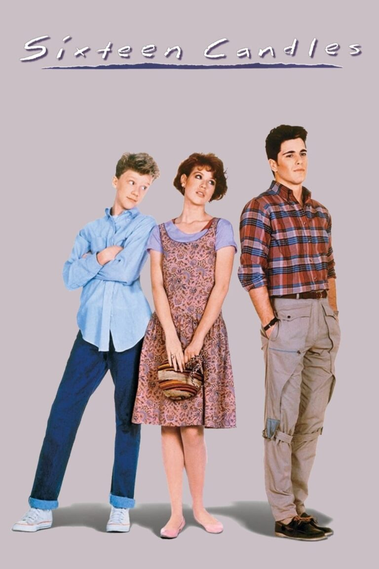 """Poster for the movie """"Sixteen Candles"""""""