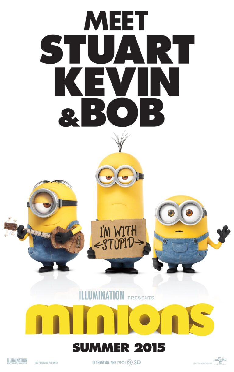 """Poster for the movie """"Minions"""""""