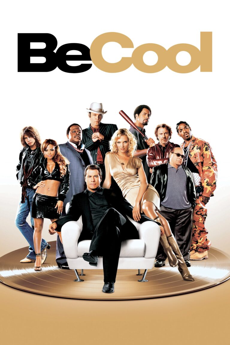 """Poster for the movie """"Be Cool"""""""