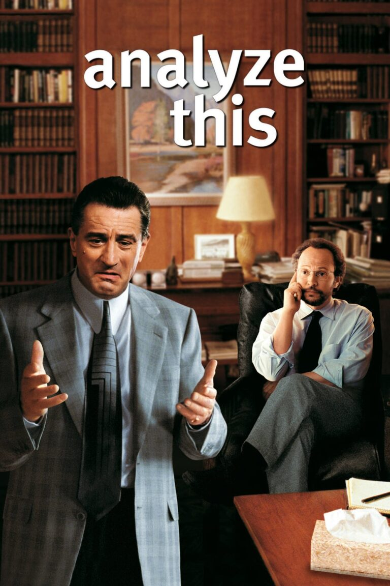 """Poster for the movie """"Analyze This"""""""