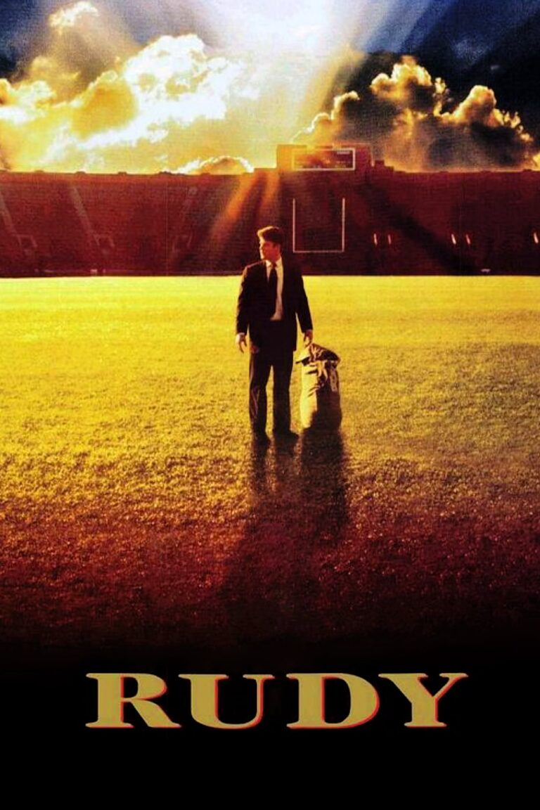 """Poster for the movie """"Rudy"""""""