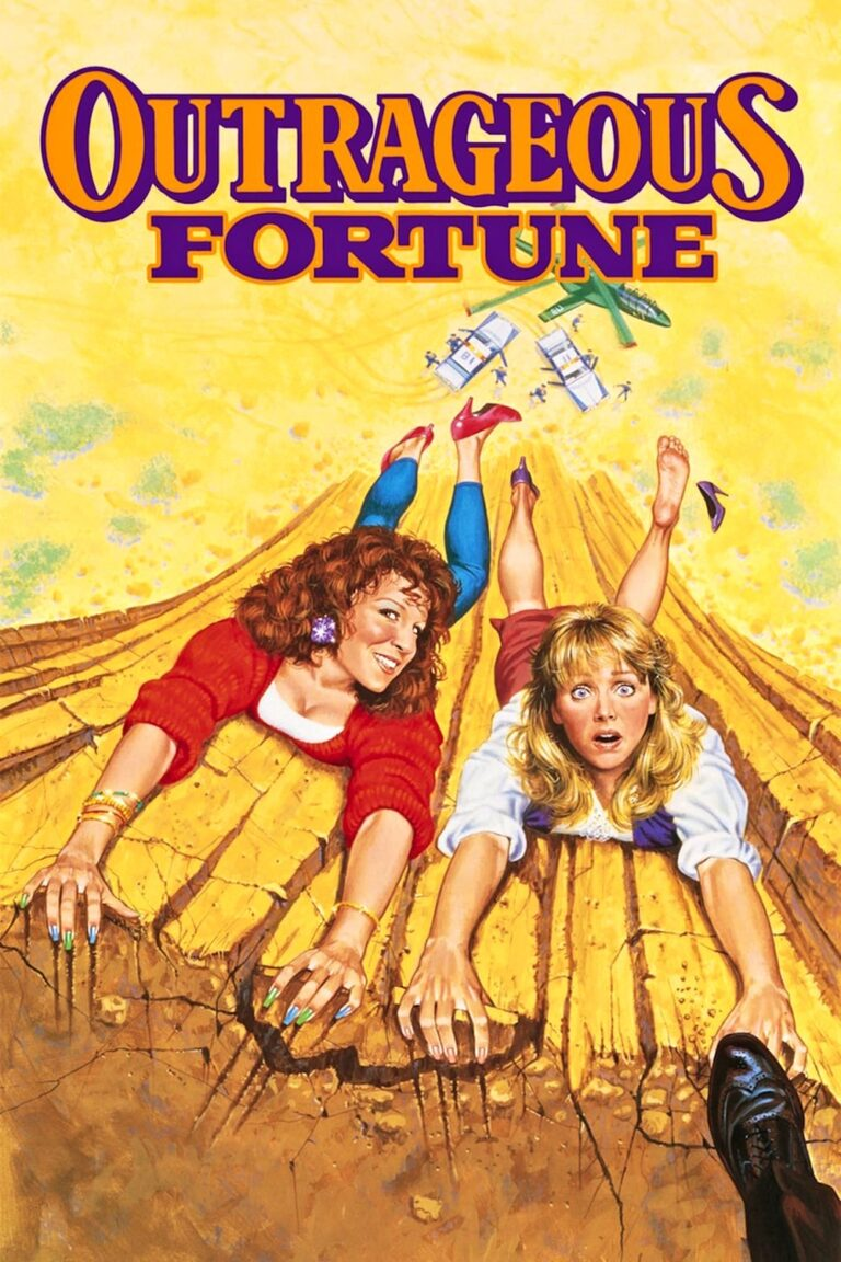 """Poster for the movie """"Outrageous Fortune"""""""