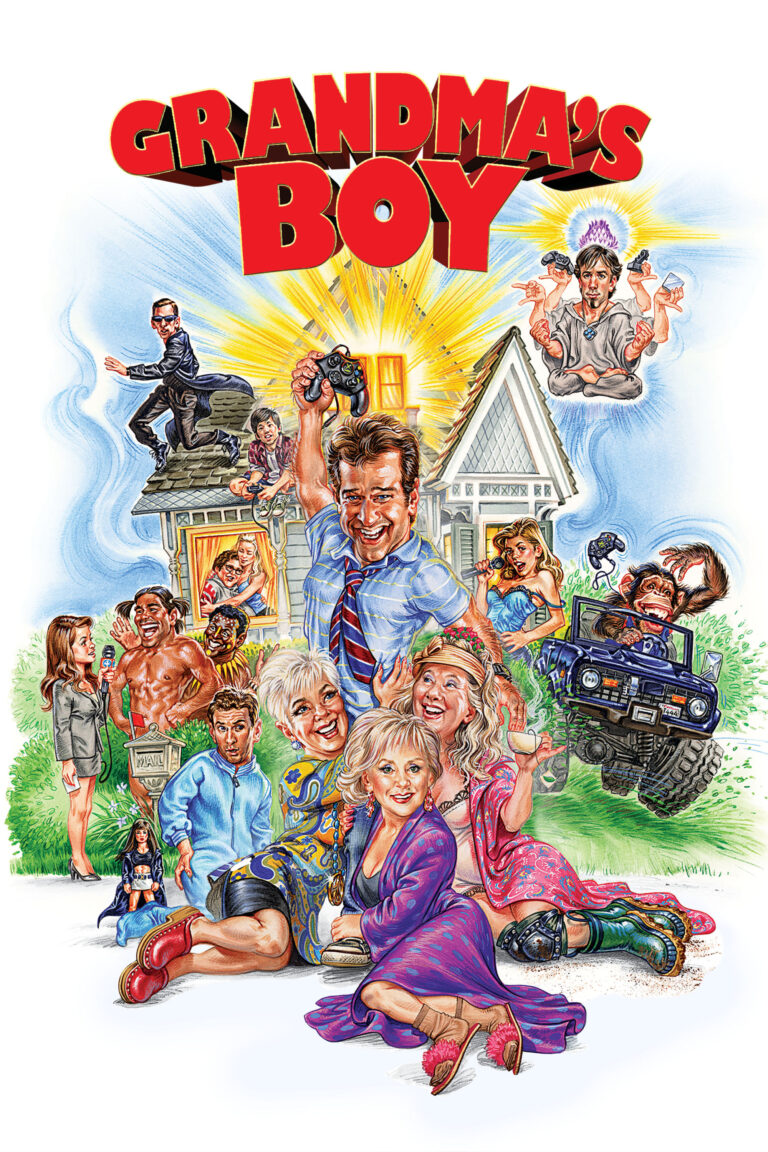 """Poster for the movie """"Grandma's Boy"""""""