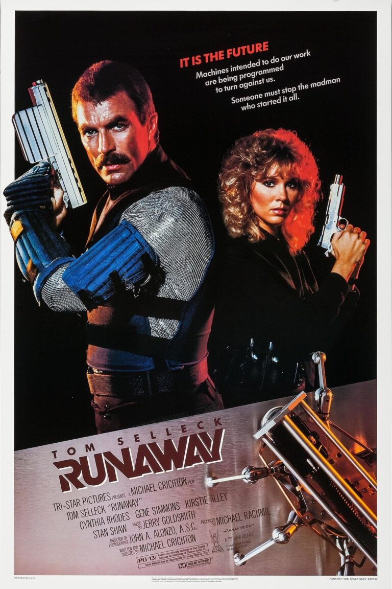 "Poster for the movie ""Runaway"""