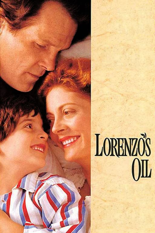 """Poster for the movie """"Lorenzo's Oil"""""""