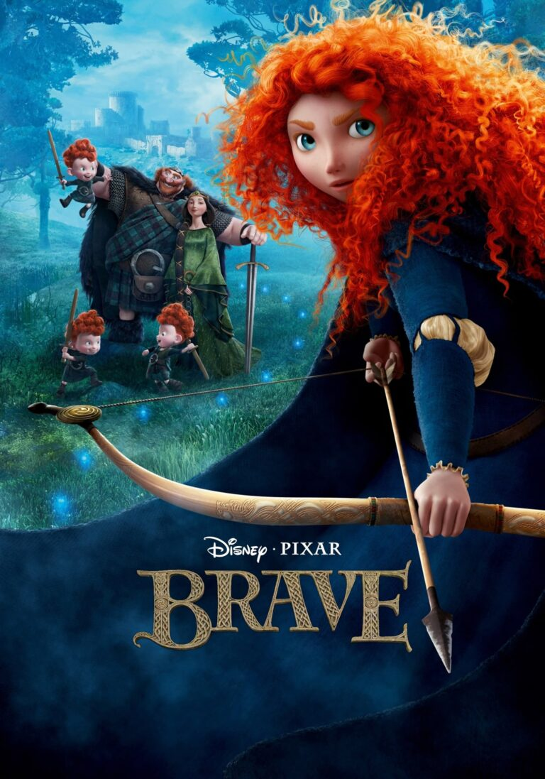 """Poster for the movie """"Brave"""""""