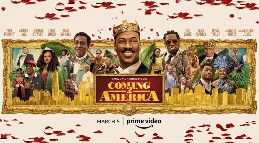 """Image from the movie """"Coming 2 America"""""""