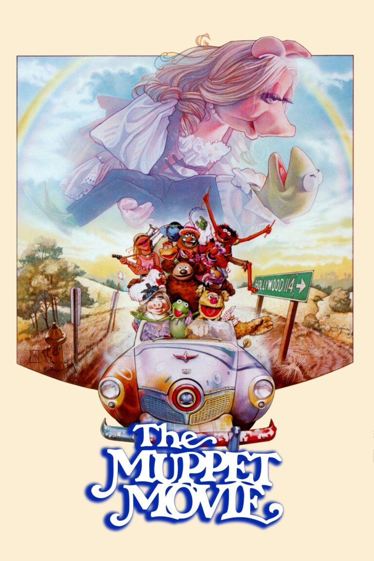 """Poster for the movie """"The Muppet Movie"""""""