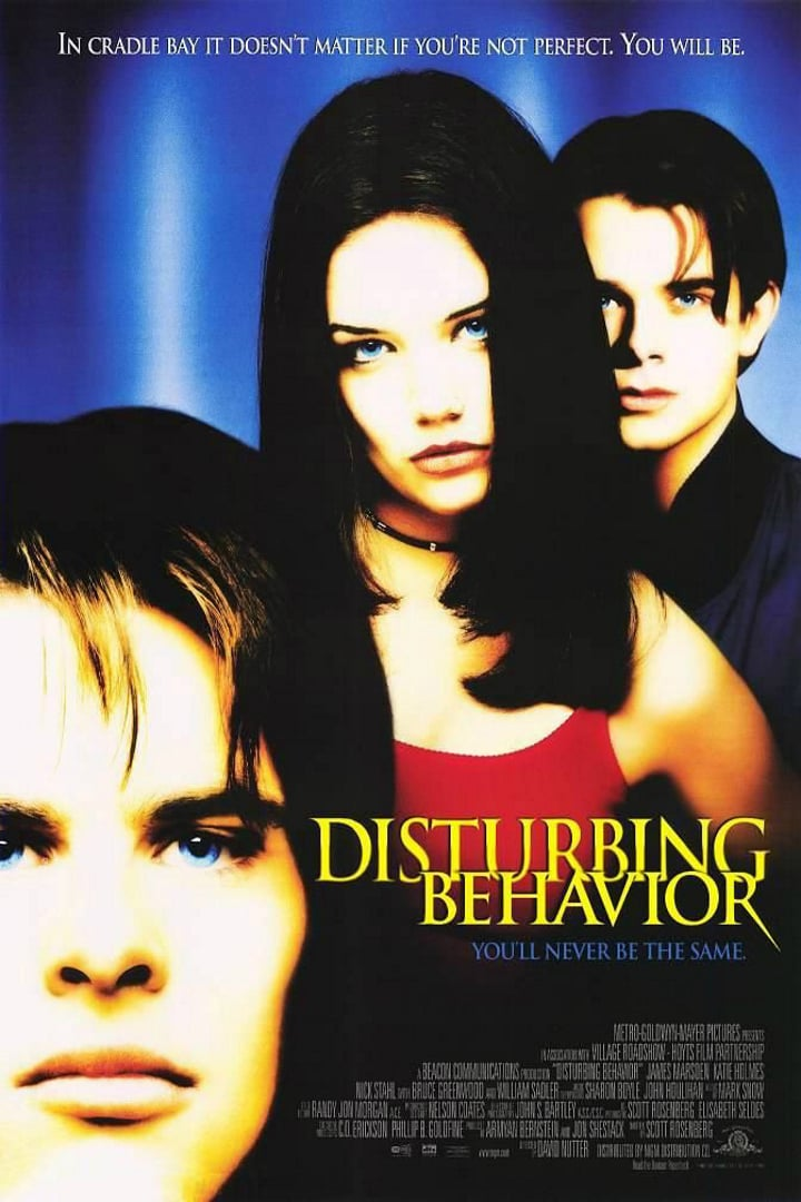 "Poster for the movie ""Disturbing Behavior"""
