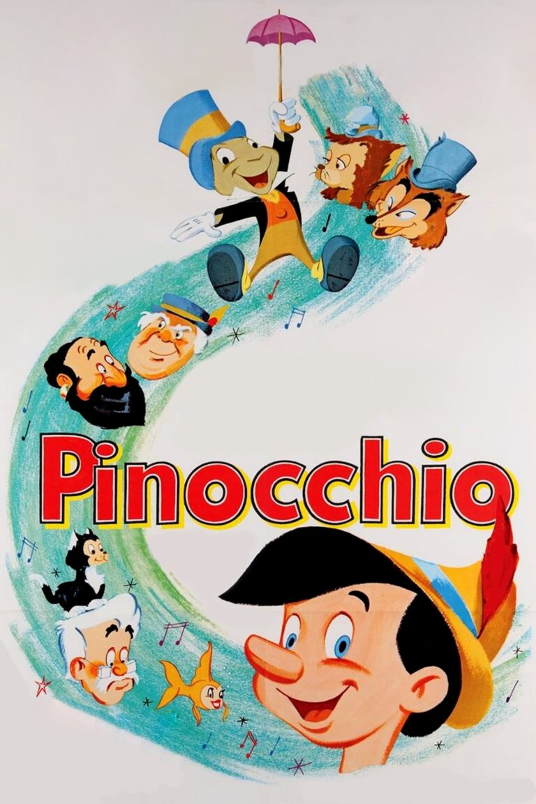 """Poster for the movie """"Pinocchio"""""""