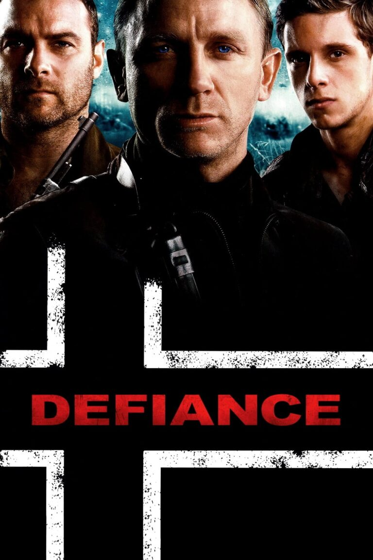 """Poster for the movie """"Defiance"""""""