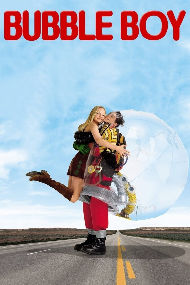 """Poster for the movie """"Bubble Boy"""""""