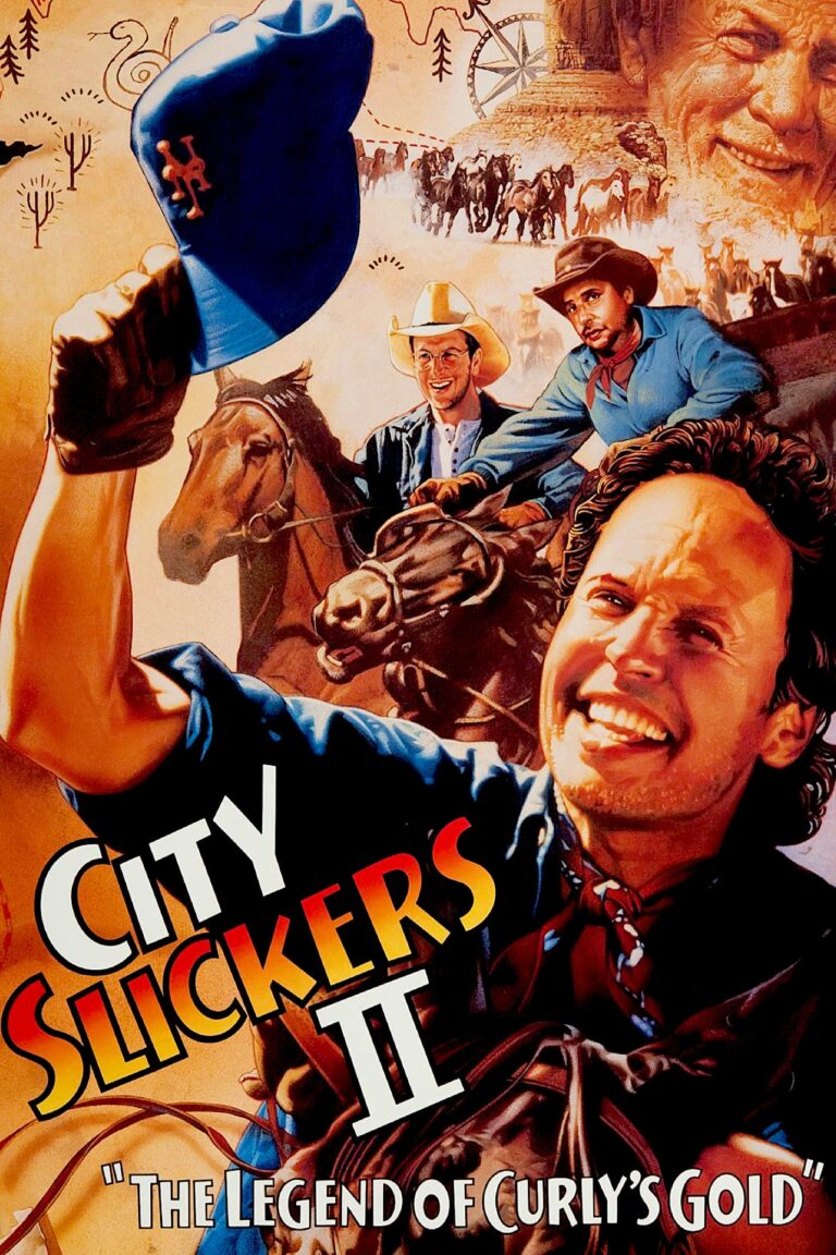 """Poster for the movie """"City Slickers II: The Legend of Curly's Gold"""""""