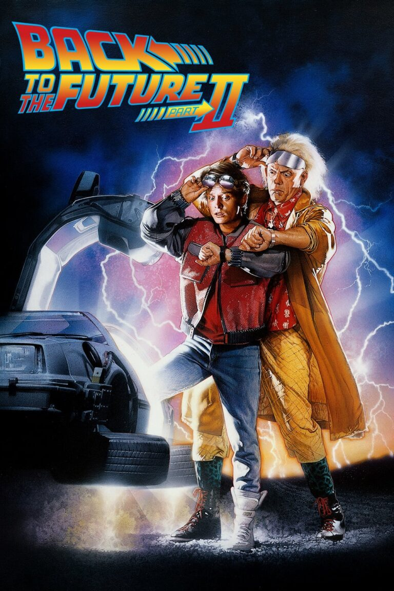 "Poster for the movie ""Back to the Future Part II"""
