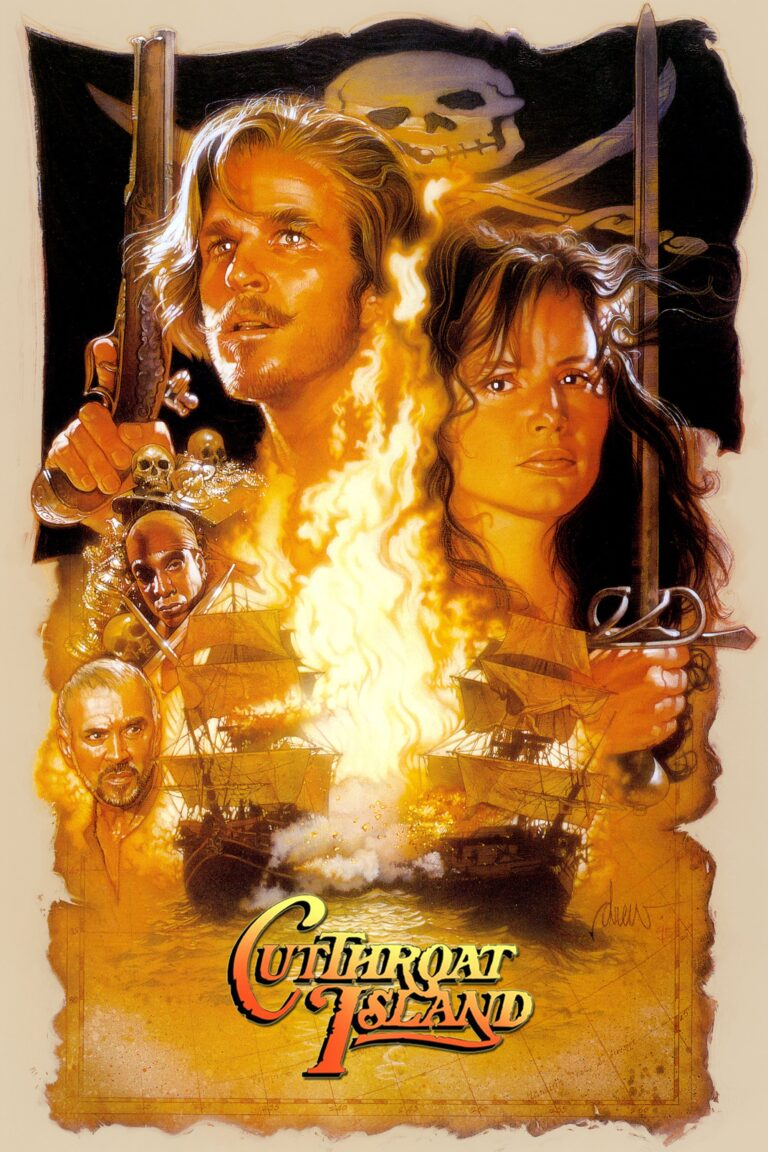 "Poster for the movie ""Cutthroat Island"""