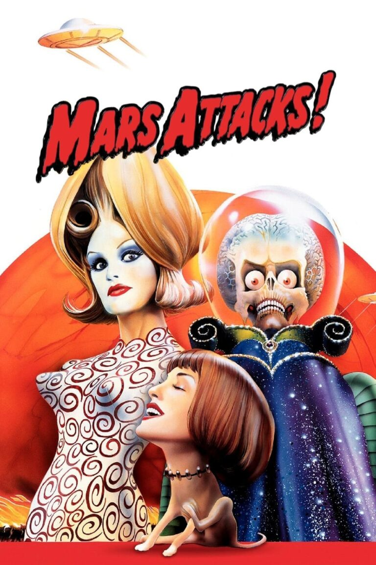 """Poster for the movie """"Mars Attacks!"""""""