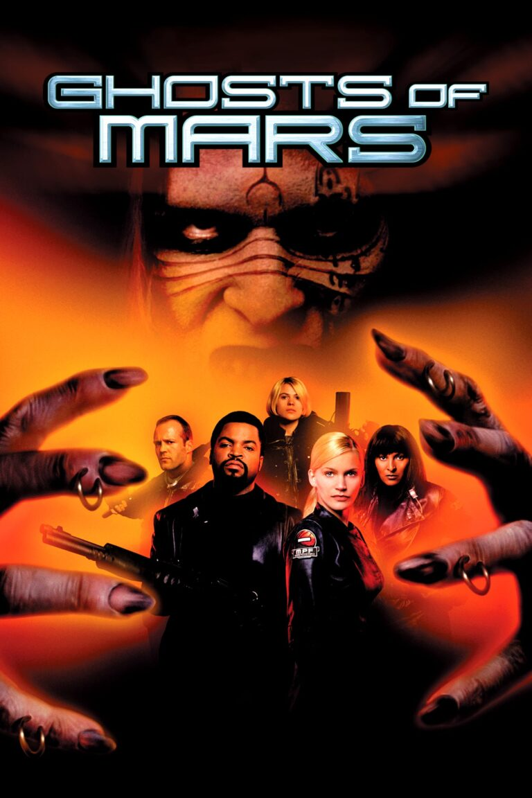 """Poster for the movie """"Ghosts of Mars"""""""