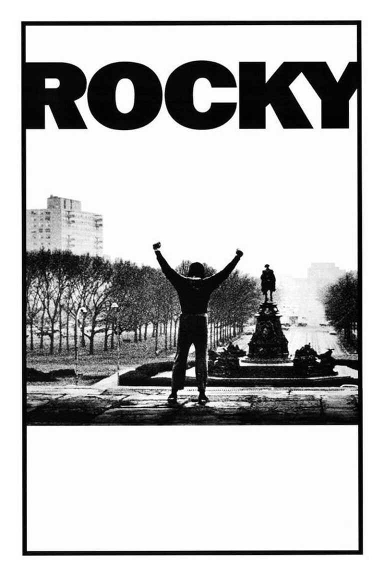 """Poster for the movie """"Rocky"""""""