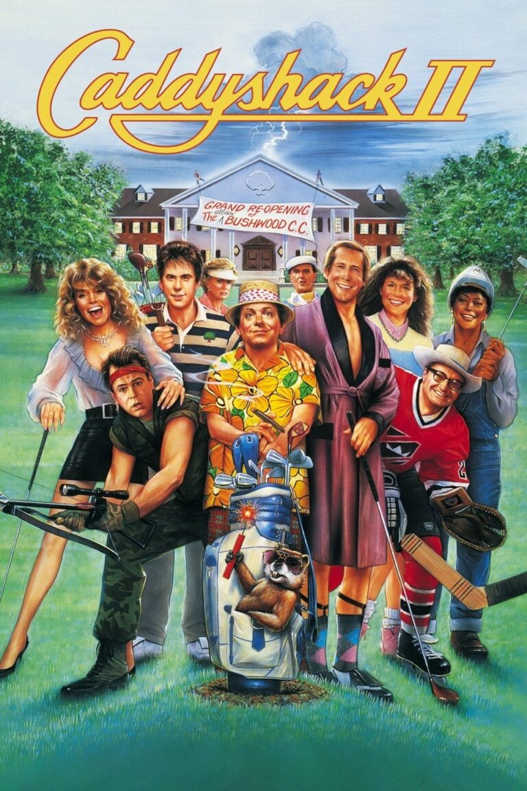 """Poster for the movie """"Caddyshack II"""""""