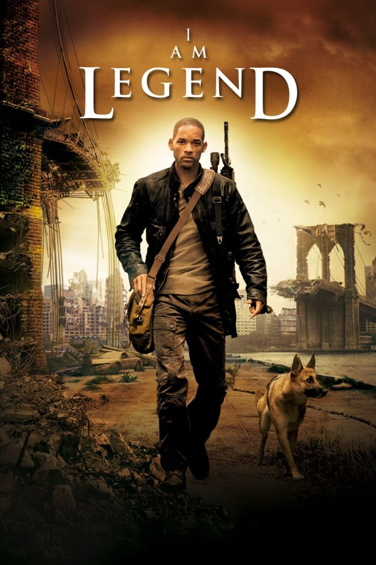 """Poster for the movie """"I Am Legend"""""""