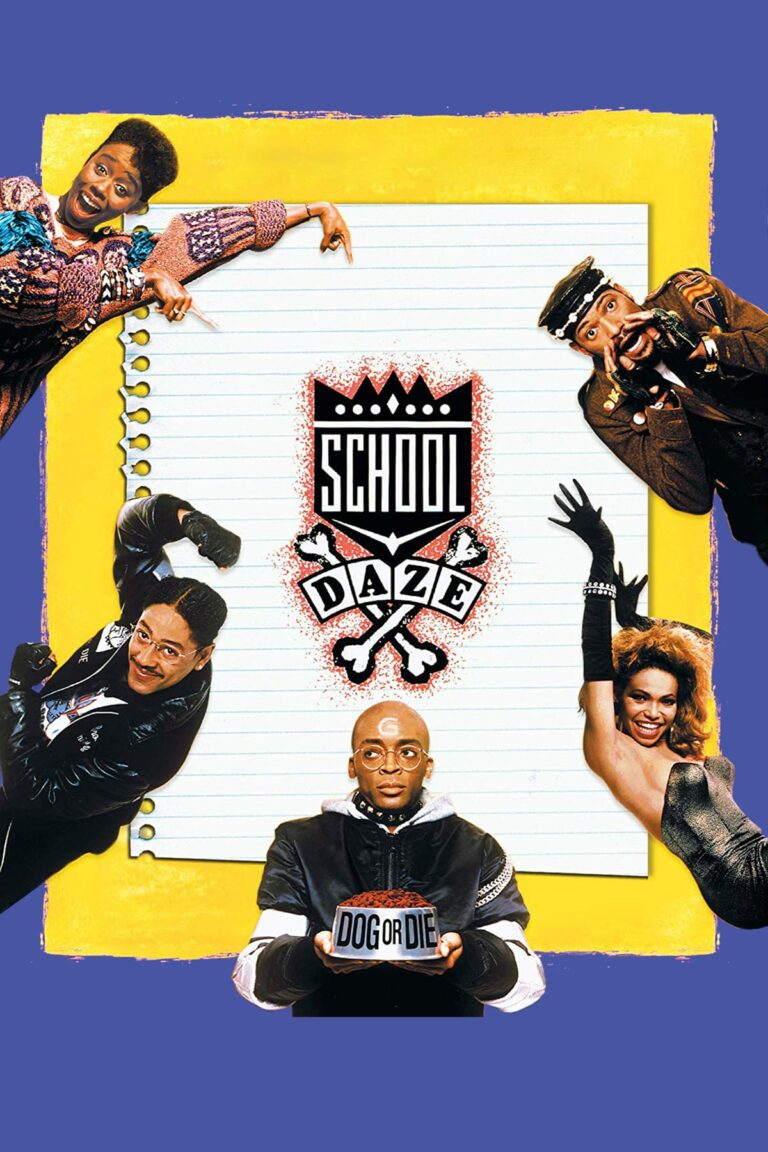 """Poster for the movie """"School Daze"""""""