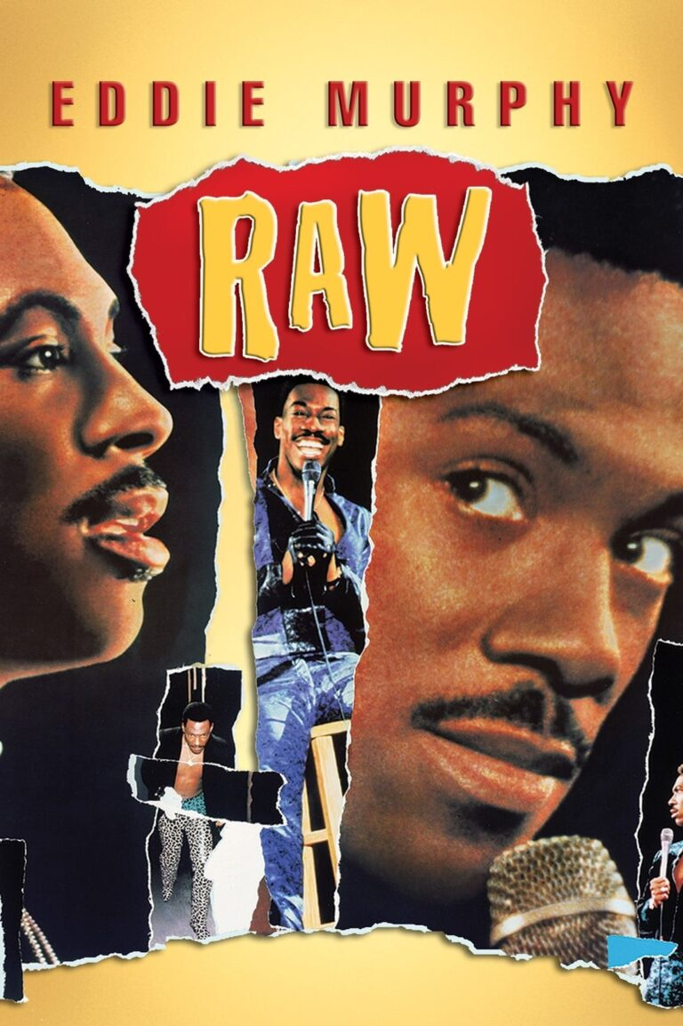 """Poster for the movie """"Eddie Murphy Raw"""""""