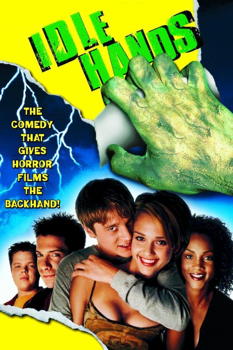 """Poster for the movie """"Idle Hands"""""""