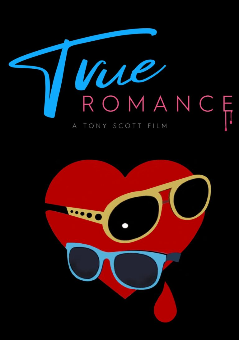 """Poster for the movie """"True Romance"""""""