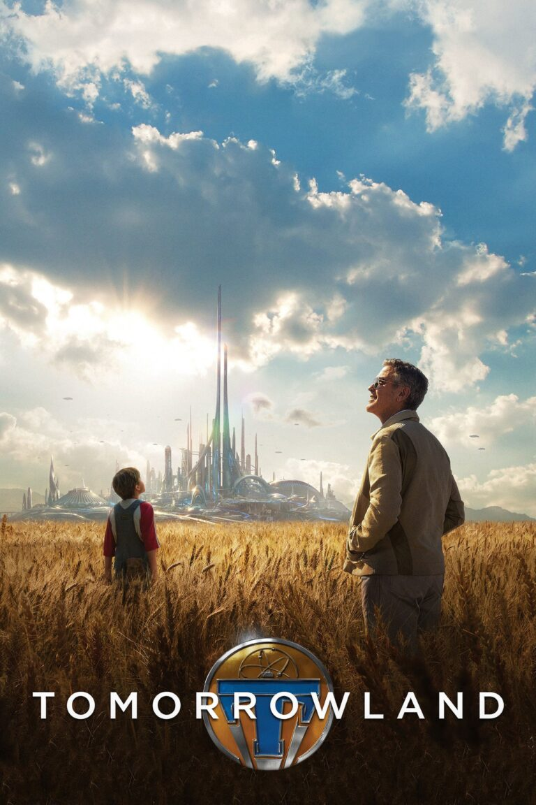 """Poster for the movie """"Tomorrowland"""""""