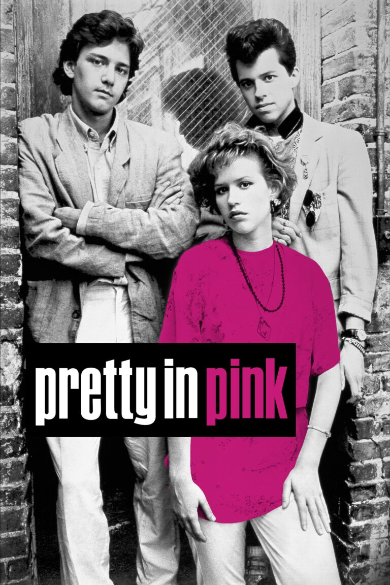 """Poster for the movie """"Pretty in Pink"""""""